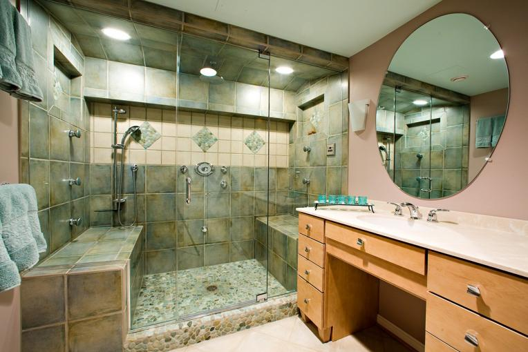 Northern Virginia Bath Remodel Steam Shower