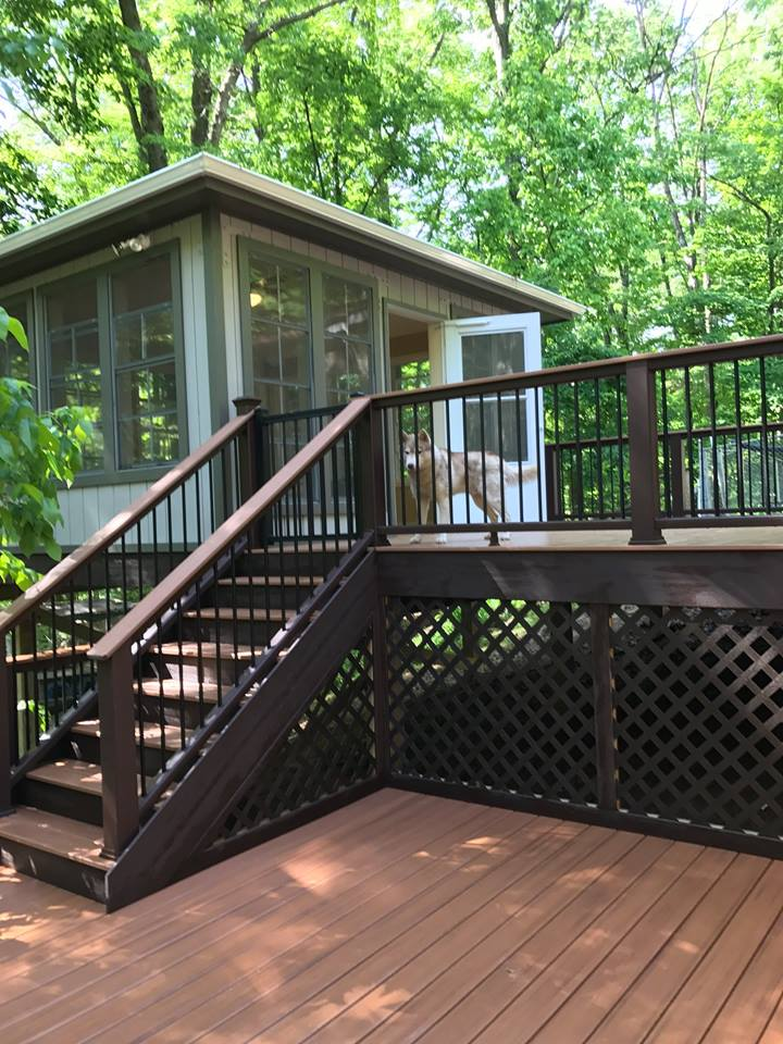 Leesburg Virginia Gazebo and Deck